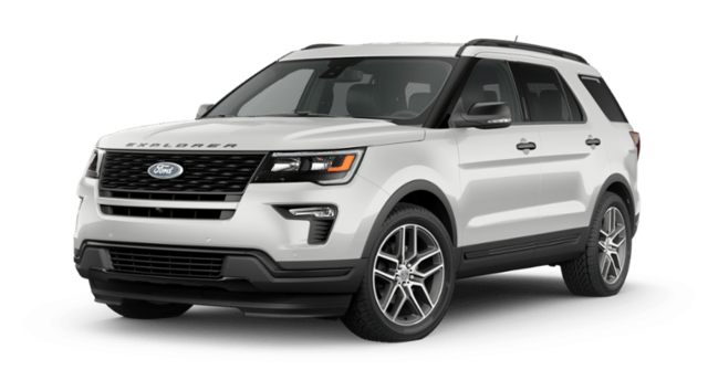 New  2019 Ford Explorer Sport SUV in Hanford, CA